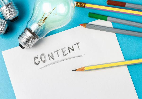 יצירתיות, רעיונות, כתיבת תכנים